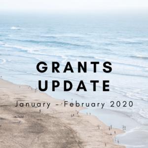 Grants update jan feb 2020