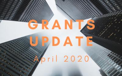 April Grants Update