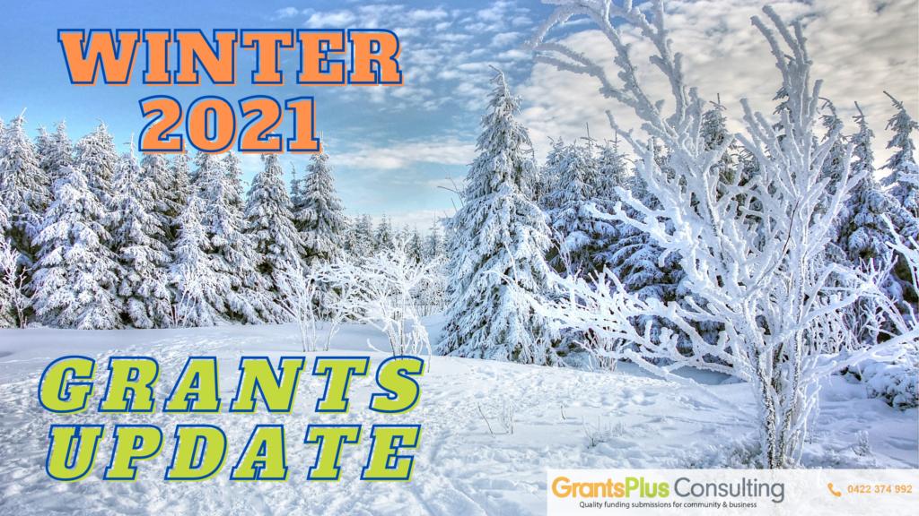 Winter 2021 Grants update